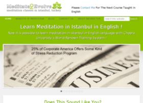 meditate2evolve.com