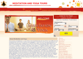 meditationandyogatours.com