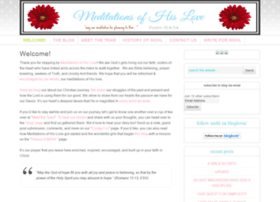 meditationsofhislove.blogspot.com