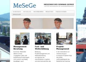 medizinisches-seminar-george.de