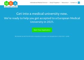 medstudentadvisors.com