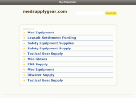 medsupplygear.com