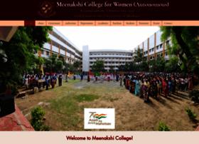 meenakshicollege.com