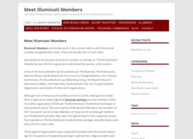 meetilluminatimembers.com
