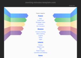 meeting-minutes-template.com