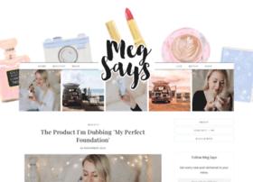 meg-says.com