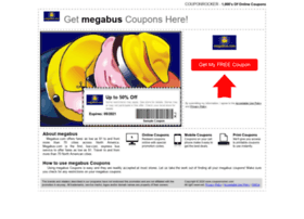 megabus.couponrocker.com