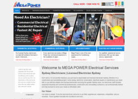 megapowerelectrical.com.au