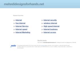 mehndidesignsforhands.net