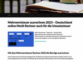 mehrwertsteuerrechner.de