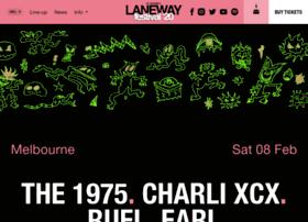 melbourne.lanewayfestival.com