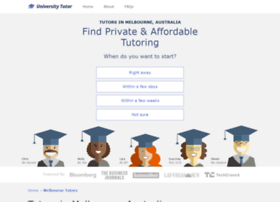 melbourne.universitytutor.com