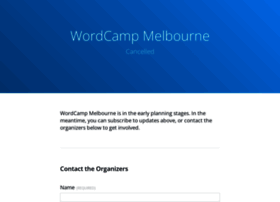 melbourne.wordcamp.org