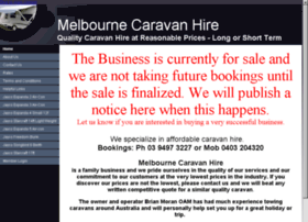 melbournehirecaravans.com.au