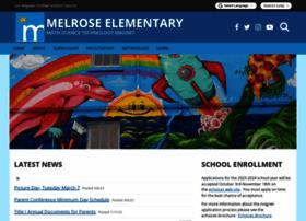 melrose-lausd-ca.schoolloop.com