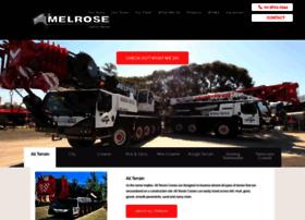 melrosecranes.com.au