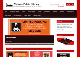 melrosepubliclibrary.org