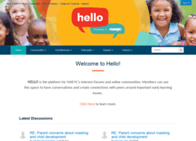 member-forums.naeyc.org
