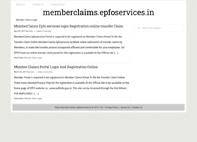 memberclaims-epfoservices.in
