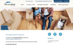 memberfirstmortgage.mortgagewebcenter.com