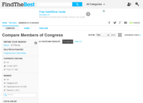 members-of-congress.findthedata.org