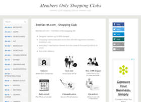 members-only-shopping.com