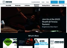 members.acsm.org