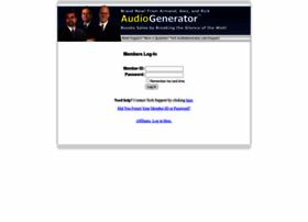 members.audiogenerator.com