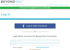 members.beyonddiet.com