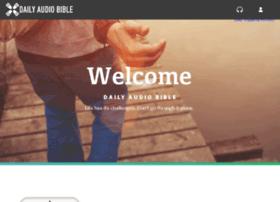 members.dailyaudiobible.com
