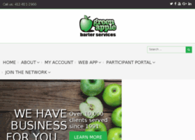 members.greenapplebarter.com