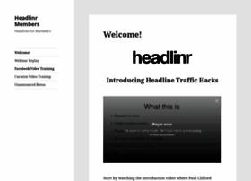 members.headlinr.com