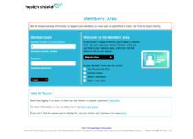 members.healthshield.co.uk