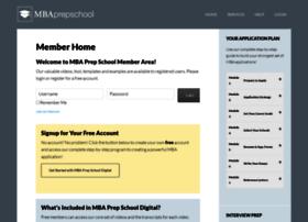 members.mbaprepschool.com