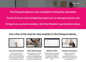 members.thedoingacademy.com
