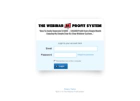 members.thewebinarprofitsystem.com