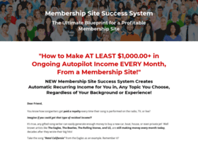 membershipsitesuccesssystem.com