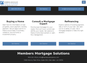 membersmortgagesolutions.mortgagexsites.com