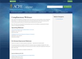 memberwebinars.acfe.com