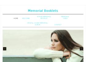 memorialbooklets.com