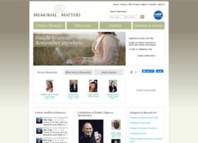 memorialmatters.com