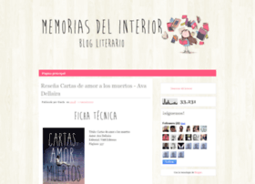 memoriasdelinterior.blogspot.com