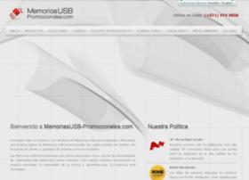 memoriasusb-promocionales.com