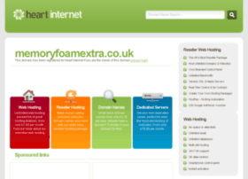 memoryfoamextra.co.uk