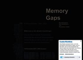 memorygaps.eu