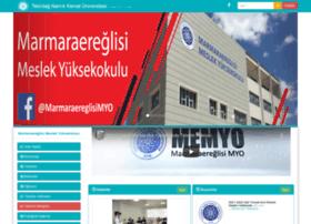 memyo.nku.edu.tr