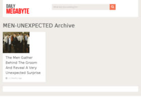 men-unexpected.dailymegabyte.com