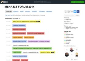 Menaictforum2014.sched.org