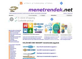 menetrendek.net