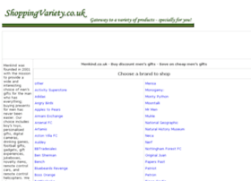 mens-gifts-accessories.shoppingvariety.co.uk